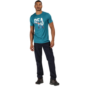Regatta Fingal V T-Shirt Homme, olympic teal